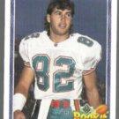 SCOTT MILLER 1991 Upper Deck Rookie Force #619.  DOLPHINS