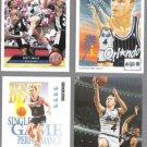 SCOTT SKILES (4) Card Lot (1991 - 1993) w/ McD's Insert.  MAGIC