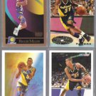 REGGIE MILLER (4) Card Lot (1990 - 1995)  PACERS