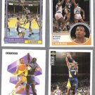 BYRON SCOTT (4) Card Lot (1991 - 1994)  LAKERS / PACERS