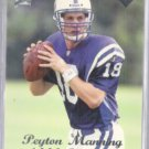 PEYTON MANNING 1998 Edge Rookie Record Setter #135.  COLTS