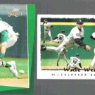 WALT WEISS 1993 Select #192 + 1995 Topps #110.  A's / ROCKIES