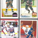 PAT LaFONTAINE (4) Card Lot (1987 + 1990) ISLES