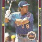 GARY CARTER 1987 Donruss #130. METS