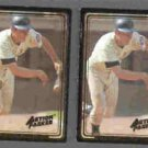 BUD HARRELSON (2) 1992 Action Packed #58.  METS