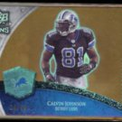 CALVIN JOHNSON 2008 UD Icons (Future Foundations) #'d Insert 19/99.  LIONS