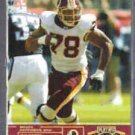 BRUCE SMITH 2003 Playoff Honors #'d Insert 199 / 250.  REDSKINS