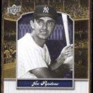 JOE PEPITONE 2008 UD Yankee Stadium Legacy Insert #YSL 3587.  NYY