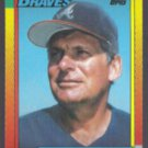 BOBBY COX 1990 Topps Traded #23T.  BRAVES