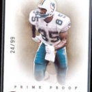 MARK DUPER 2012 Panini Prime Proof #'d Insert 24/99.  DOLPHINS  Thick Stock