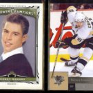 SIDNEY CROSBY 2013 UD Goodwin Champions #47 + 2009 UD #43.  PENGUINS