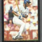 DARRYL HAMILTON 1992 Leaf Black GOLD Insert #12.  BREWERS
