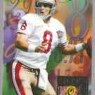 STEVE YOUNG 1994 Flair Hot Numbers Insert #15 of 15.  49ers