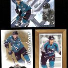 PATRICK MARLEAU (3) Card Lot (2003, 2013 + 2014) SHARKS