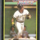 BARRY BONDS 1992 Topps McDonald's Best GOLD Insert #12 of 44.  PIRATES