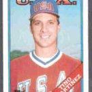 TINO MARTINEZ 1988 Topps Traded #66T.  USA