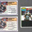 WAYNE GRETZKY 1980 Topps #182 + 1981 OPC + Topps All From Card Show Dealer Lot.