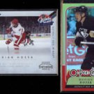 MARIAN HOSSA 2010 Playoff Contenders Winter Classic + 2008 OPC Foil.  RED WINGS