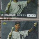 DEREK JETER 1994 UD Electric Diamond RC Insert w/ sister card.  YANKEES