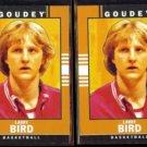 LARRY BIRD (2) 2014 Upper Deck Goodwin Champs #16.  CELTICS