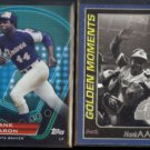 HANK AARON 2011 Topps Prime 9 Insert + 2001 Golden Moments.  BRAVES