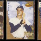 ROGER MARIS (3) Card 1994 Ted Williams Etched In Stone Insert Lot.  YANKEES