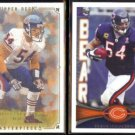 BRIAN URLACHER 2008 UD Masterpieces + 2012 Topps.  BEARS