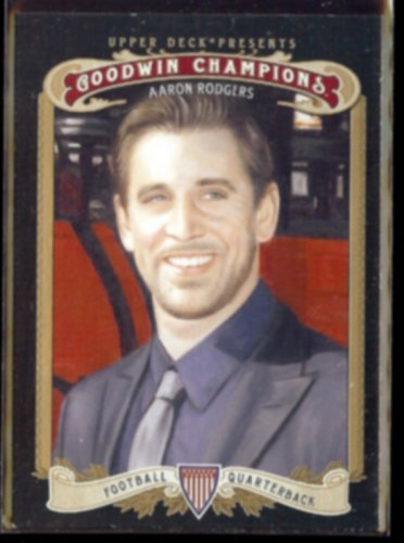 AARON RODGERS 2012 UD Goodwin Champions #131.  PACKERS