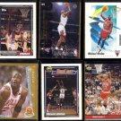 MICHAEL JORDAN (6) Lot (1991 - 1993)  BULLS