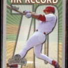 MARK McGWIRE 1999 Topps Opening Day HR Record #163 w/ MARIS on back.  CARDS