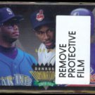 KEN GRIFFEY Jr. 1995 Donurss Dominators Insert #8 of 9 w/ Lofton + Grissom.