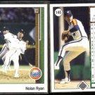 NOLAN RYAN (2) 1989 Upper Deck In Motion #145.  ASTROS