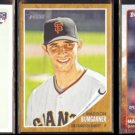 MADISON BUMGARNER (3) 2010 Topps A&G Rookie + 2011 + 2015.  GIANTS