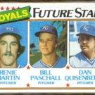 DAN QUISENBERRY 1980 Topps Future Stars #667.  ROYALS