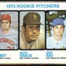 1973 Topps Rookie Pitchers #602 w/ DOUG RAU.  DODGERS