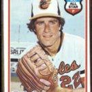 JIM PALMER 1978 Topps #160.  ORIOLES