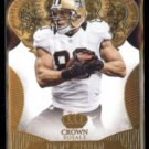 JIMMY GRAHAM 2013 Panini Crown Royale Gold #47.  SAINTS