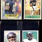 WALTER PAYTON 1983 Topps Sticker + (2) 1981 mini + 1985 Mini Stickers.  BEARS
