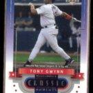 TONY GWYNN 2001 UD Midsummer Classic Moments Insert #CM10.  PADRES