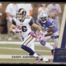 DANNY AMENDOLA 2011 Panini Threads #133.  RAMS