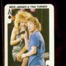 MICK JAGGER + TINA TURNER (A of Spades) 1986 Dandy Rock n Bubble