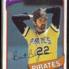 BERT BLYLEVEN 1980 Topps #457.  PIRATES