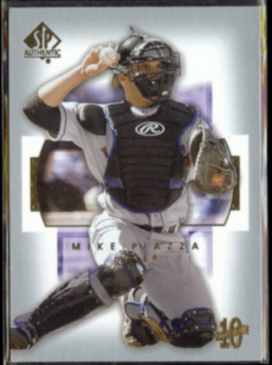 MIKE PIAZZA 2003 Upper Deck SP Authentic #74.  METS