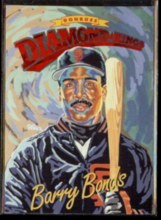 BARRY BONDS 1994 Donruss Diamond Kings Insert #DK-1.  GIANTS