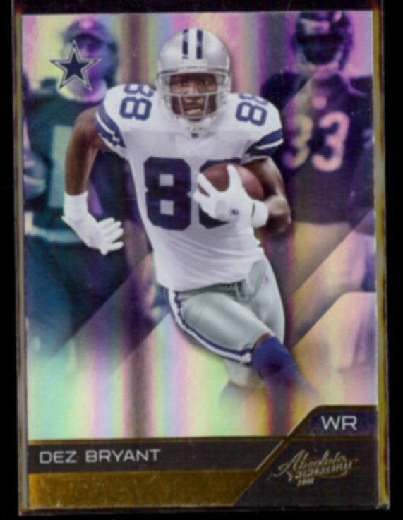 DEZ BRYANT 2011 Panini Absolute #29.  COWBOYS