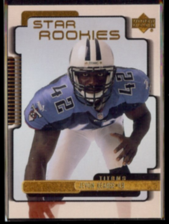 JEVON KEARSE 1999 Upper Deck Star Rookies #228.  TITANS