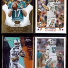 RYAN TANNEHILL (4) Card Lot (2013 + 2015).  DOLPHINS