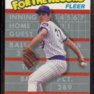 GREG MADDUX 1989 Fleer (For The Record) Sub-set card #5 of 6.  CUBS