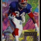 THURMAN THOMAS 1994 Flair Hot Numbers Insert #14 of 15.  BILLS
