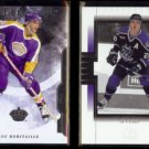 LUC ROBITAILLE 2011 UD Artifacts #20 + 2000 UD SP Authentic #40.  KINGS